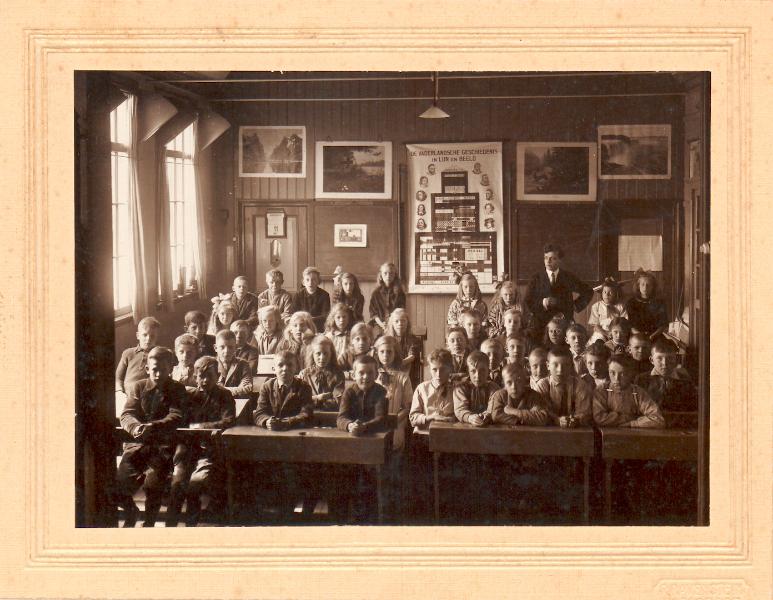 Klassenfoto uit 1927