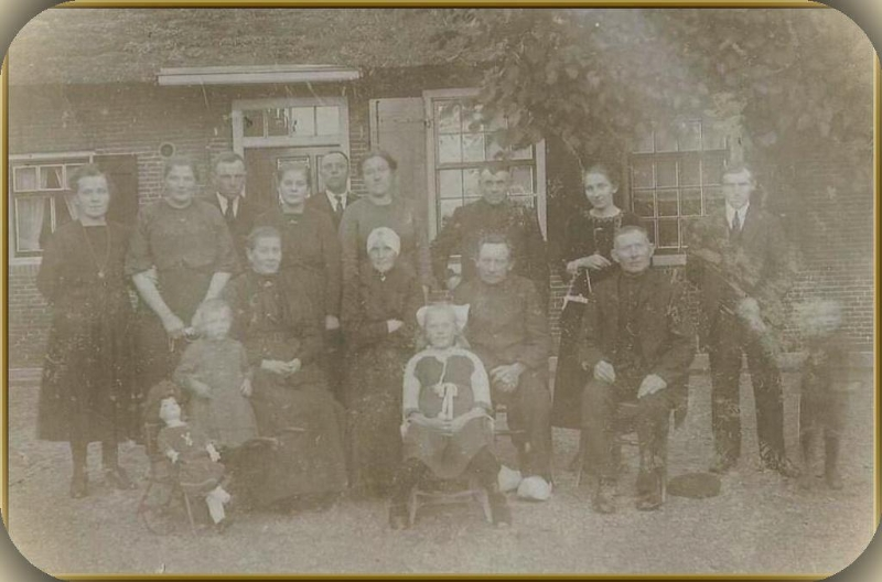 Familiedag omstreeks 1921