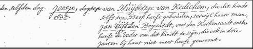 Doopboek Meerkerk den 29e oktober 1752