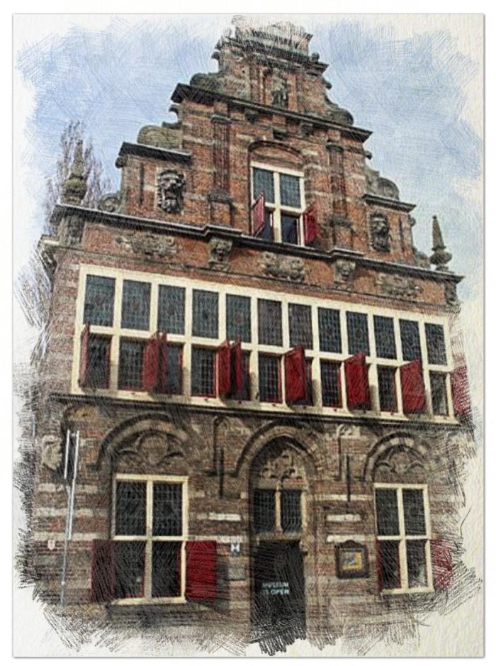 Voormalig Stadhuis Woerden, bouwjaar 1501