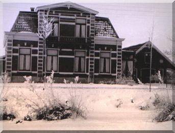Herenboerderij Eikenstein, Haanwijk 15 te Harmelen in de winter 1942 – 1943