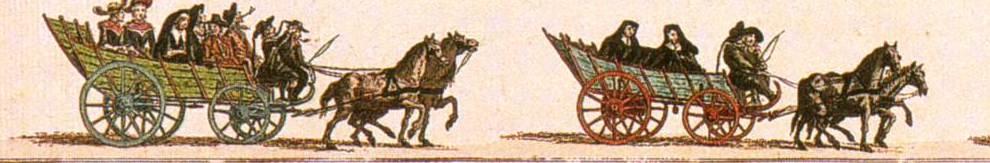 Begrafenisstoet van de boerenstand, met wagens. J. le Francq van Berkhey, 1776.