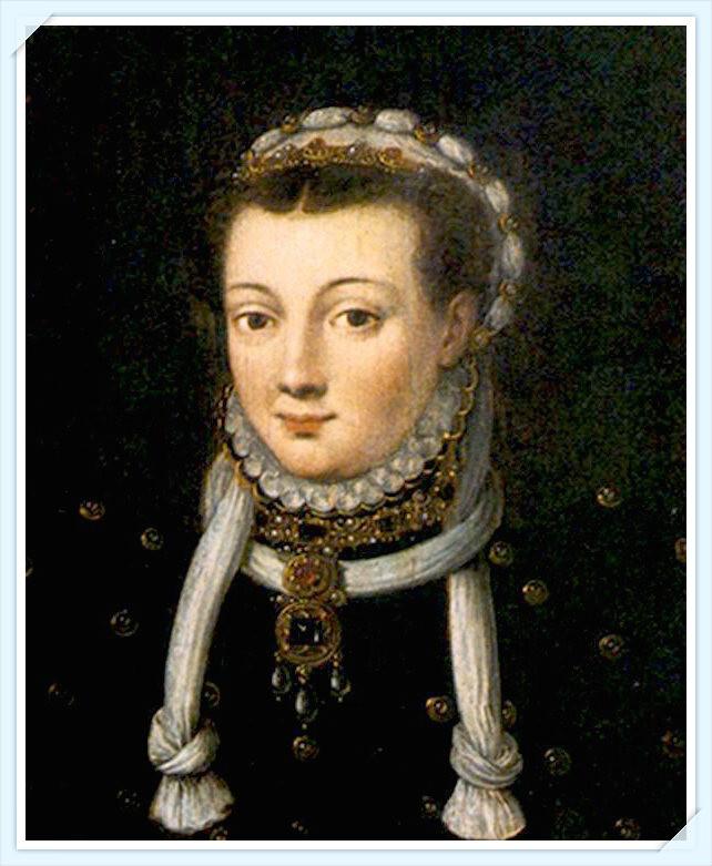 Schilderij van de Vrouwe van IJsselstein, Anna van Egmond (1533 – 1558).