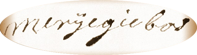 Handtekening van Marrigje Jansdochter Bosch onder haar testament. Utrecht 7 november 1801.