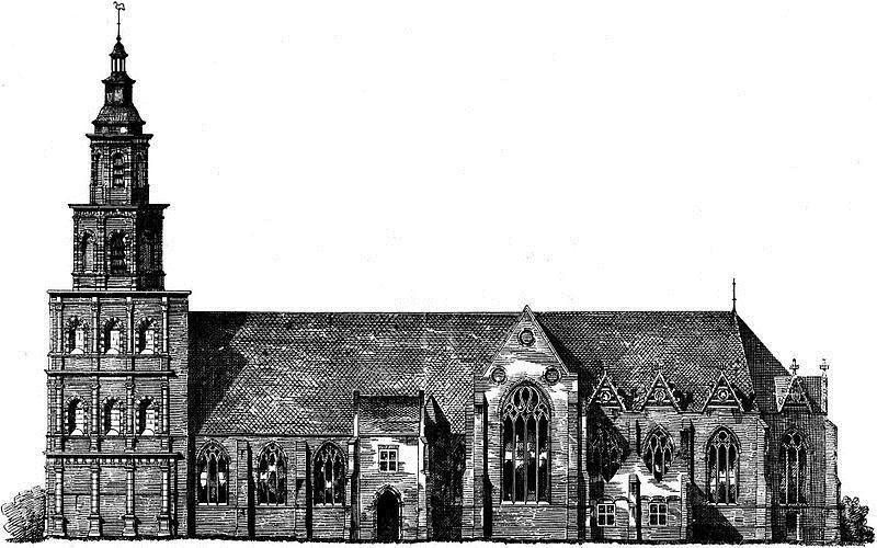 De Oude Sint Nicolaaskerk werd rond 1310 gebouwd en was de parochiekerk van het buurtschap Eiteren en de stad IJsselstein. De kerk werd genoemd naar de beschermheilige van de stad. In 1577 – tijdens de reformatie - werd het een protestantse kerk.